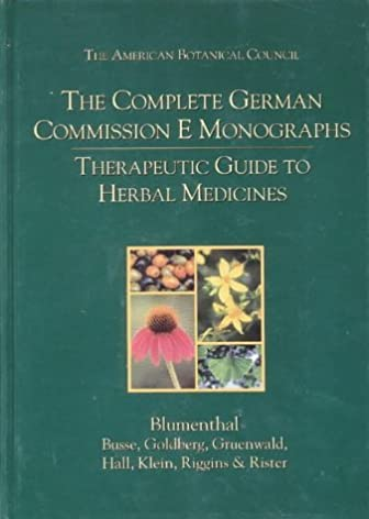 the complete german commission e monographs therapeutic guide to rh amazon com Natural Medicine Guide Herbal Medicine Guide 2012