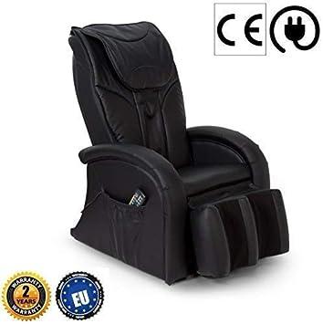 acheter en ligne c43cf 2e8f9 KARMA® Fauteuil de massage 2D - Noir (nouveau modèle 2019) - Fauteuil relax  avec 5 programmes massage Shiatsu - Système massage des jambes et ...