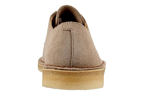 White Crosby Clarks Desert Suede Shoes Originals Mens qnYn8pC