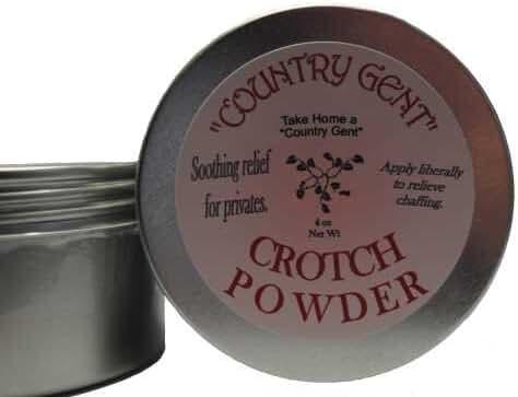 Crotch Powder, 4 oz Tin, Puff included