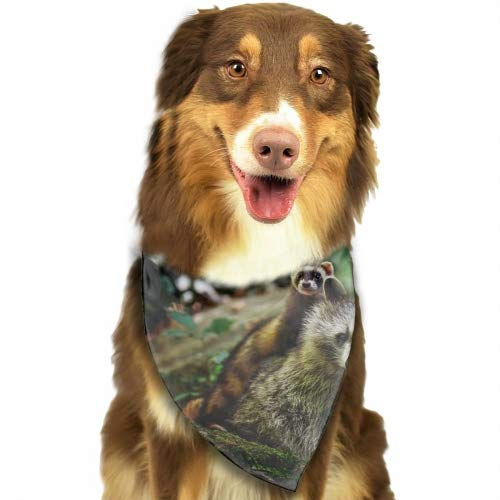 Pet Dog Bandana Triangle Bibs Scarf Ferrets Lovely Mother Accessories for Dogs, Cats, Pets Animals