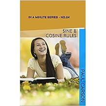Sine & Cosine Rules - In A Minute: Book 24 of the In A Minute Series