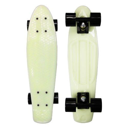 Zycle Fix Mayhem Penny Style Skateboard (Glow/Black, 22)