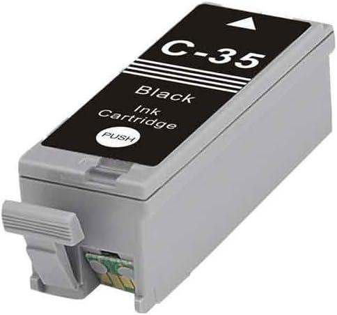 Replacement for Canon PGI-35 B; Models PIXMA iP100; Black Ink MG Compatible Inkjet Cartridges CPGI35B