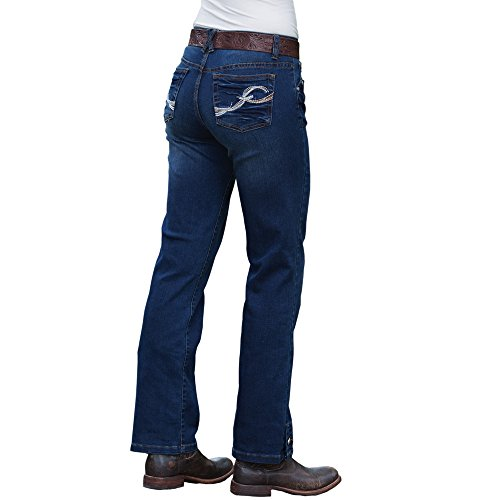 Rod's Button Me Up Dark Wash Jean, 15W x 34L