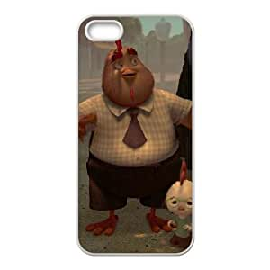 iPhone 5 5s Cell Phone Case White Disney Chicken Little Character Buck Cluck Phone cover SE8593759