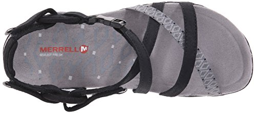 Merrell Womens Terran Lattice Ii Sandalo Nero