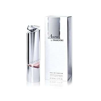 15cba2c4ac95 Amazon.com   Aura By Swarovski Eau De Parfum Refillable Spray 50 Ml 1.7  Fl.oz for Women   Beauty