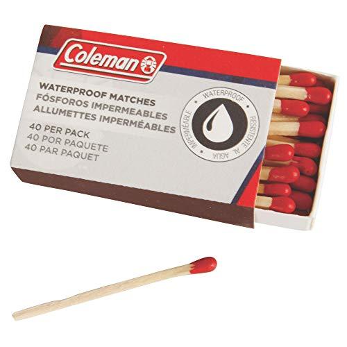 Coleman Waterproof Matches (4 - Starters Fire Coleman