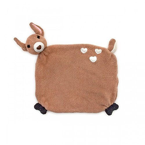 Apple Park Organic Little Woodland Pal Blankie - Fawn by Apple Park