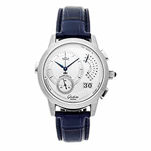 Glashutte Original Panomatic mechanical-hand-wind mens Watch 60-01-01-01-06 (Certified Pre-owned)