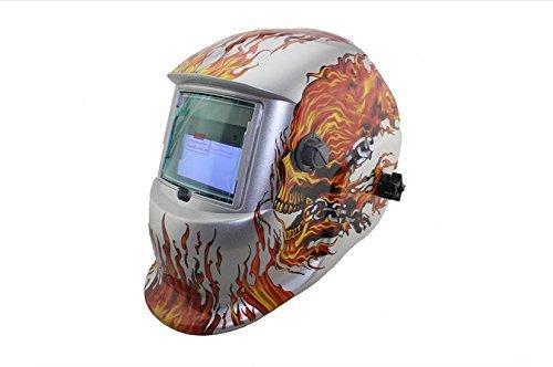 Solar Schweißmaske Schweißhelm Automatik Schweißschirm Schweißschild Skull N.8