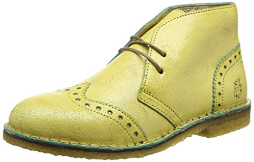 FLYA4|#Fly London Cace927fly, Botines para Mujer Amarillo (Yellowturquoise)