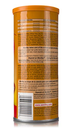 Wardley Premium Goldfish Food Flakes - 3oz