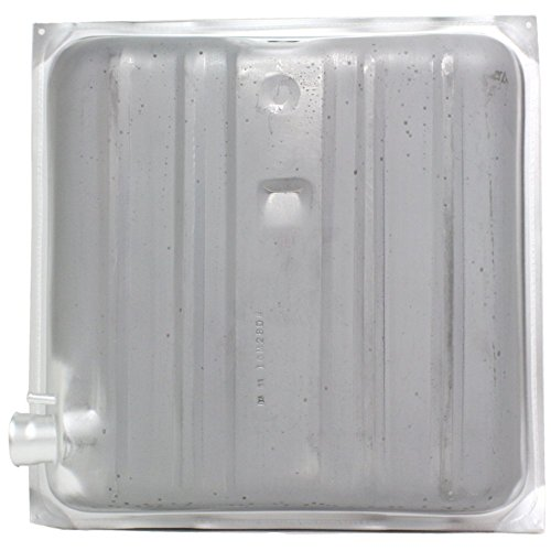(Fuel Tank compatible with Chevy Bel Air 57-57 Steel Silver 16 Gal/60L 25-1/4 X 25 X 8-1/4 In.)
