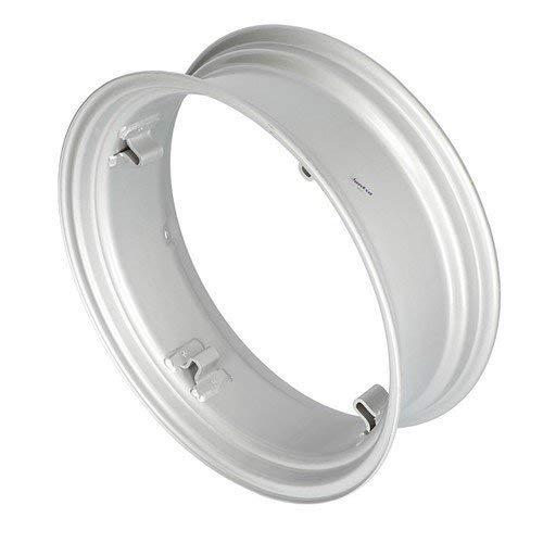 All States Ag Parts 8 x 24 4 Loop Rear Rim Silver Mist International 130 100 A B 140 Super A Allis Chalmers B C IB
