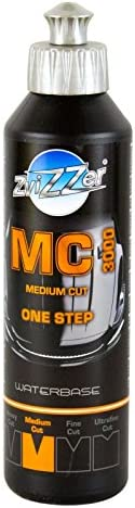 Zvizzer Mc 3000 Medium Cut One Step Politur Lackpolitur Autopolitur 250 Ml Auto