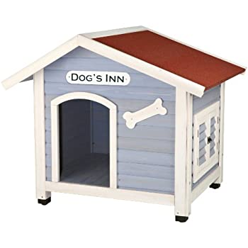 Amazoncom trixie pet products dog39s inn dog house pet for Trixie dog house insulation