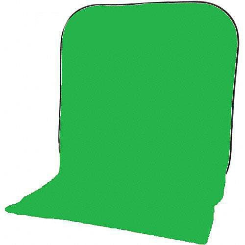 Impact Super Collapsible Background - 8 x 16' (Chroma Green) by Impact