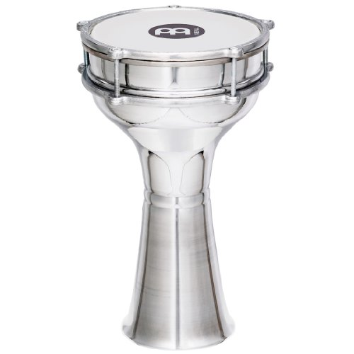 Meinl Percussion Mini Darbuka with Aluminum Body - MADE IN TURKEY - 7 1/4