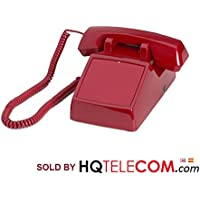 Industrial No Dial Hot Dialer (Auto Dial) Desk Phone - RED by HQtelecom