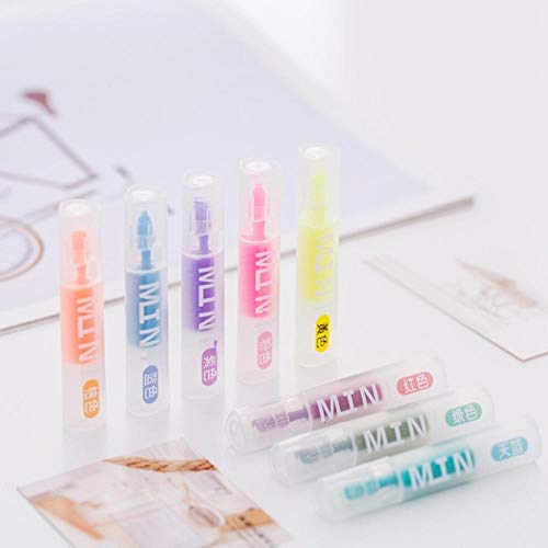 (Mini Transparent Colorful Candy Color Highlighters Promotional Markers Gift Stationery)