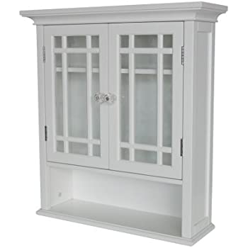 Amazon.com: Elegant Home Fashions Neal Collection Shelved
