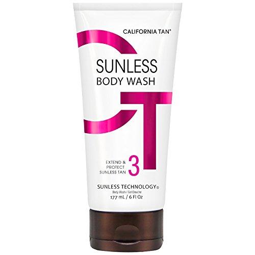 California Tan Sunless Body Wash, 6 Ounce