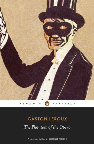 Book cover for The Phantom of the Opera