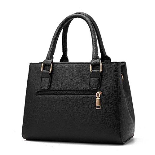 La New De Fourre Femme B à Cuir Sac Messenger tout Vintage Bag Véritable En Casual Fashion Bandoulière qCwEUS