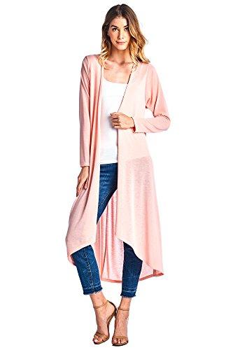 12-ami-basic-knit-solid-long-sleeve-maxi-cardigan-blush-xl