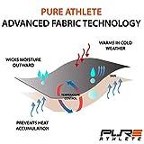 Pure Athlete Ski Socks - Best Lightweight Warm