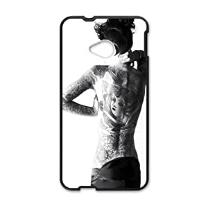 Sexy Girl Black Phone Case for HTC M7