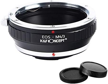 K/&F Concept Lens Adapter Ring for Nikon G F Auto Ai Ais D to Micro Four Thirds m4//3 Mount Olympus Pen E-PL1 E-PL1s E-PL2 E-PL3 E-P2 E-P3 E-M OM-D E-M5 E-M10 Panasonic Lumix G10 GX1 GH1 GH2 GF5 GH4