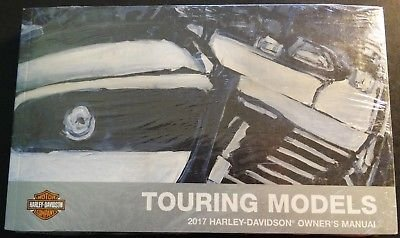 2017 Harley Davidson Touring Models Owners Manual Kit 99466-17