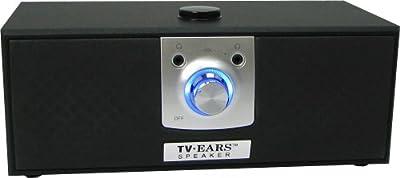 TV Ears 11290 5.0 Wireless Speaker, Black
