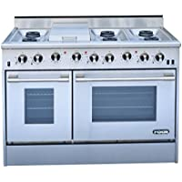 NXR DRGB4801 Professional Style Gas Range, 48, Stainless Steel