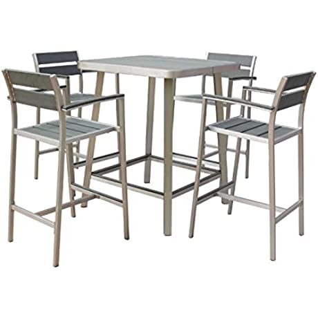 Boraam 76678 Polylumber 3 Piece Fresca Folding Dining Set
