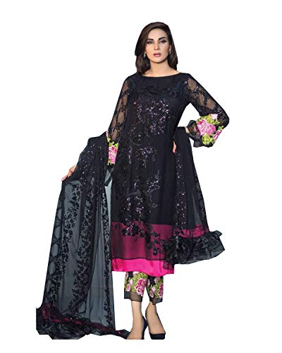 ziya Women's Ethnic wear Black & White Readymade Indian, used for sale  Delivered anywhere in USA