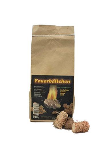 EiFi 4321901 - Paquete de 200 bolas para encendido de barbacoa (2, 5 kg) [importado de Alemania]: Amazon.es: Jardín