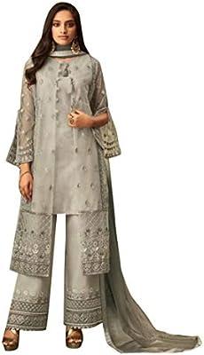 Indian Salwar Kameez Ethnic Sharara Stylish Palazzo Dress Pakistani Punjabi Suit