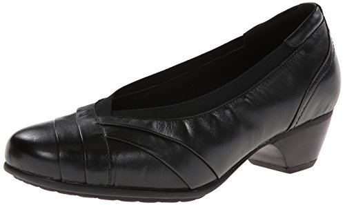 Women's Aravon 'Patsy' Low Pump, Size 7 B - Black