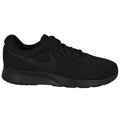 nike tanjun mens trainers black
