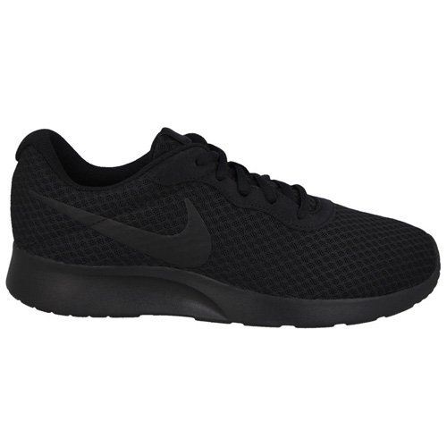 Image of Nike Mens Tanjun Running Sneaker Black/Anthracite/Black 10.5