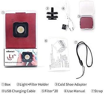 Ulanzi Waterproof L1 Pro Mini Led Video Light On Camera Camera Photo