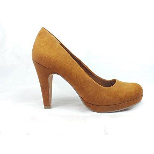 Marco Tozzi - Zapatos de vestir para mujer marrón canela canela