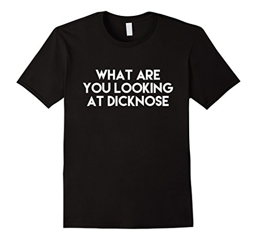 Mens What Are You Looking At Dicknose Classic Costume T Shirt XL (Classic Movie Halloween Costumes Ideas)