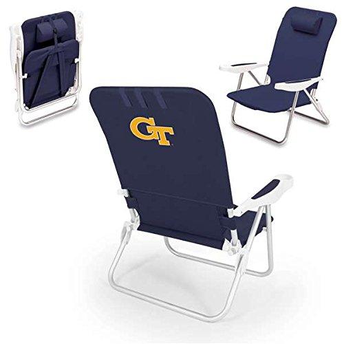 (NCAA Georgia Tech Yellow Jackets Monaco Folding Beach Chair)