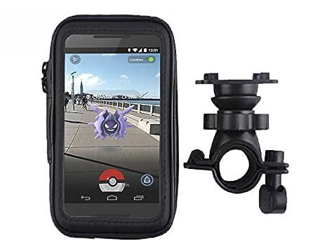 Pokemon Go Favorite Pokemon Go Farovrite DAXXIS Waterproof Adjustable Mobile Phone Cycle Bike Handlebar Mount Pouch Bag Sony Z5 //M5 //C4 Samsung Galaxy S7 //J7 HTC One// 10 LG G5 Huawei P9 Oppo R9