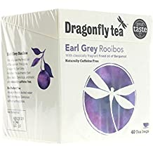 Dragonfly Tea Rooibos Earl Grey Tea 40 Bag - DRF-0012 by Dragonfly Teas